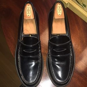 Men's bass black penny loafers 9.5D